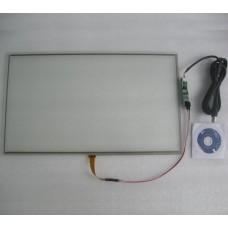 10.1 дюймовый 4-проводной резистивный сенсорный экран 16:9