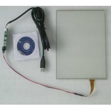 15 дюймовый 4-проводной резистивный сенсорный экран 4:3