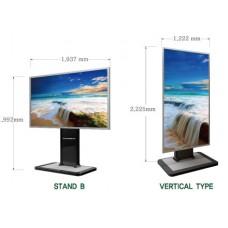 "Stand B - напольный стенд для дисплея JAGUAR BOARD 4K 84"""