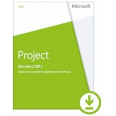 Microsoft Project Standard 2013 - 1 PC ЭЛЕКТРОННАЯ ВЕРСИЯ