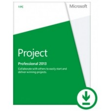 Microsoft Project Professional 2013 - 1 PC ЭЛЕКТРОННАЯ ВЕРСИЯ