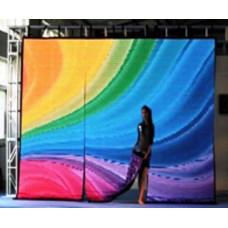 Гибкий светодиодный (LED) экран FLC-1600L