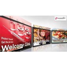 Решение для создания контента и управления им с веб-интерфейсом LG SuperSign W